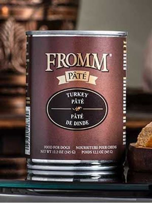 Fromm Gold Turkey Pate Dog can 12.2 oz