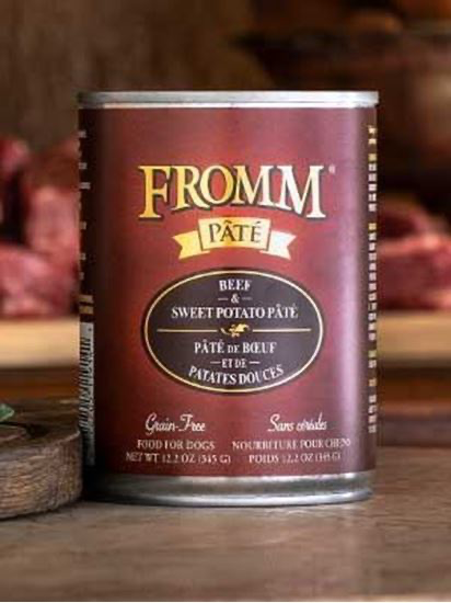 Fromm Beef & Sweet Potato Dog cans 12.2oz