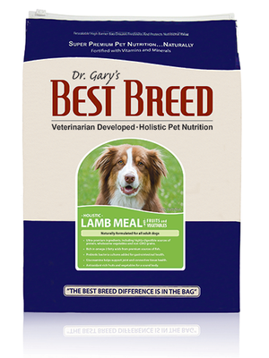 Best Breed Lamb Meal and Rice Dog Food