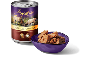 Zignature Venison Formula Canned 13oz