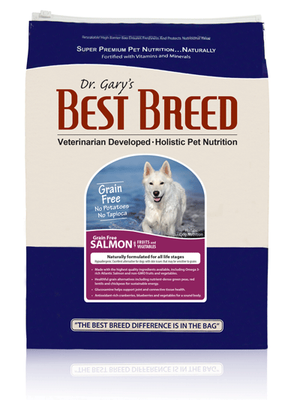 Best Breed Grain Free Salmon Dog Food