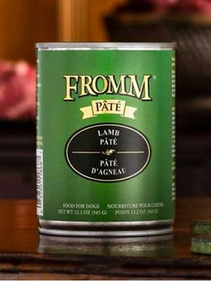 Fromm Gold Lamb Pate Dog can 12.2 oz