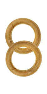 Compressed Rawhide Ring