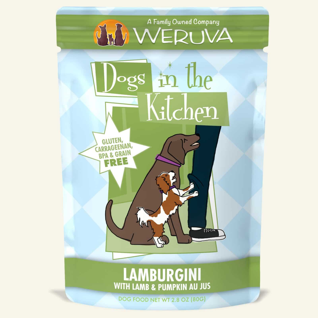 Weruva Dogs in the Kitchen Lamburgini Lamb and Pumpkin Au Jus