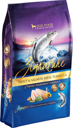 Zignature Trout Salmon Formula