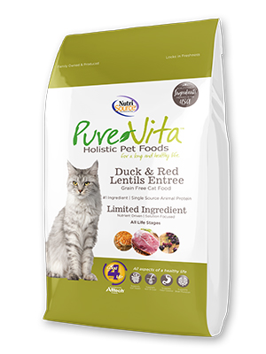 Pure Vita Duck and Red Lentils Cat Food