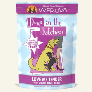 Weruva Dogs in the Kitchen Love Me Tender Chicken Breast Au Jus