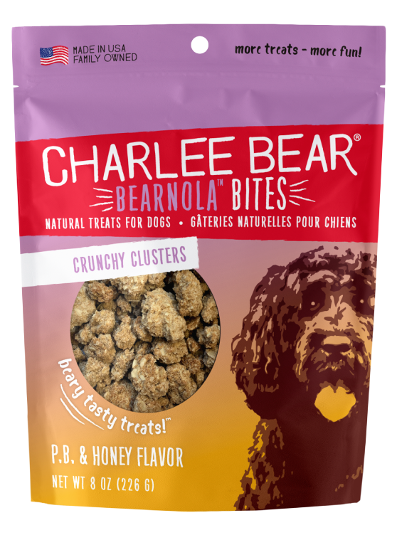 Charlee Bear Bearnola Bites Dog Treats