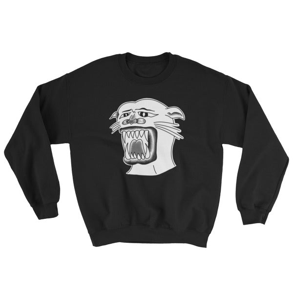 Sucky Panther Pullover Sweatshirt