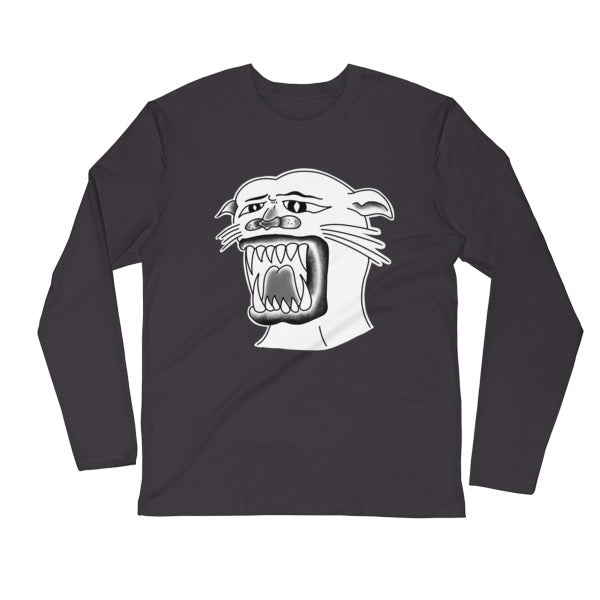 The Sucky Panther Long Sleeve Unisex Fitted Crew
