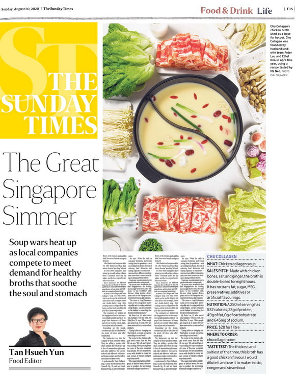 The Sunday Times - CHU Collagen