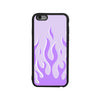 Lavender Flames iPhone Kılıfı