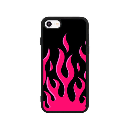 Red Flames iPhone Kılıfı