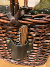 Load image into Gallery viewer, Wicker Wine Tote