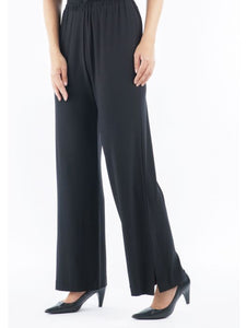 Palazzo Pant With Side Spilt Hem