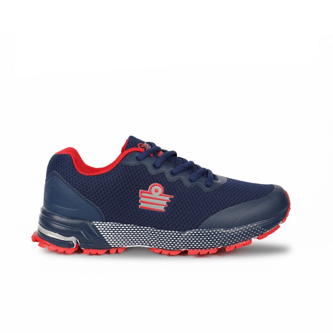 Admiral Men Titan Combat Running Shoes (Navy/Red) FOOTWEAR Admiral
