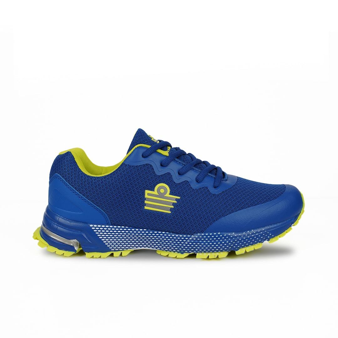 Admiral Men Titan Combat Running Shoes (Royal/Lime) FOOTWEAR Admiral