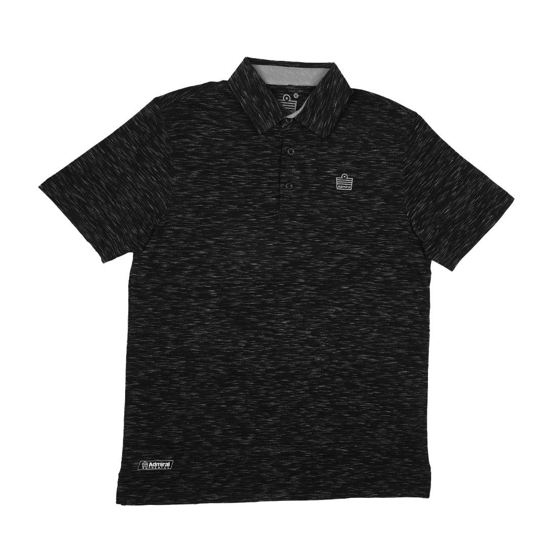 Admiral Men's Performance Polo Shirt - Textured - Kasut Marketplace