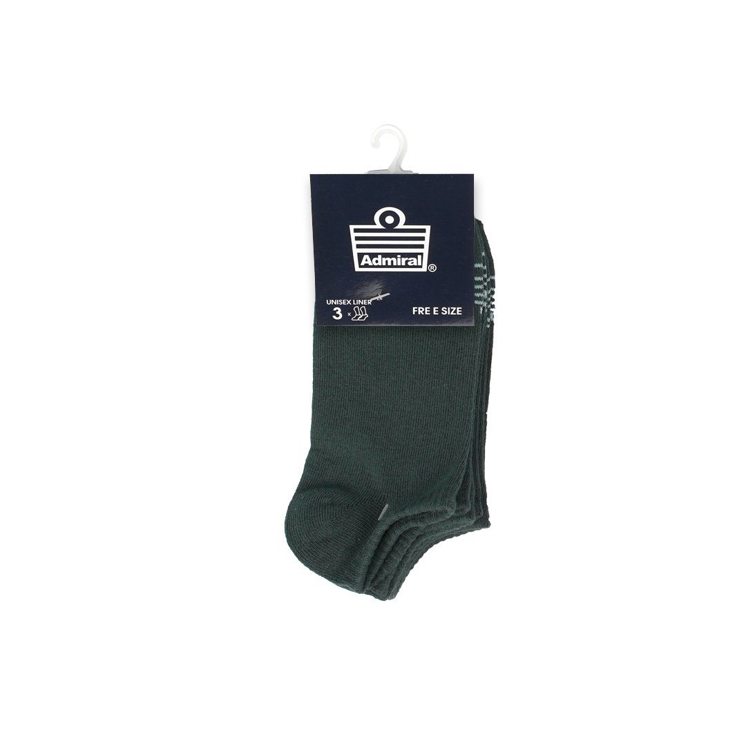 Admiral Socks Grey 3 In 1 ACCESSORIES Admiral