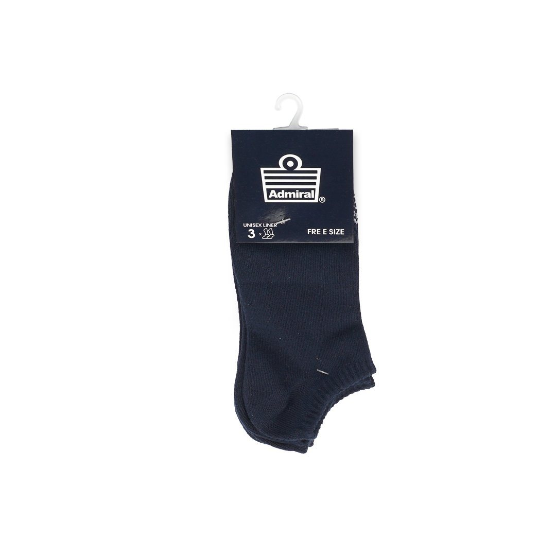 Admiral Socks Navy 3 In 1 ACCESSORIES Admiral