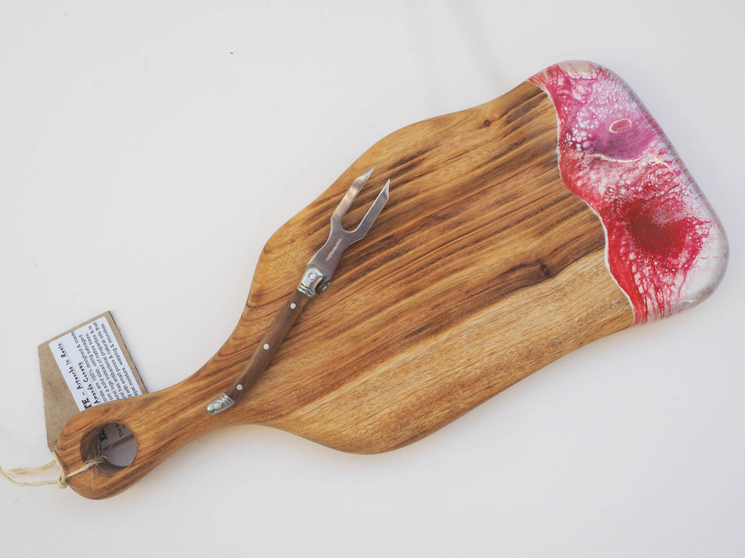 Small Paddle Cheeseboard Including knife. (CB13)