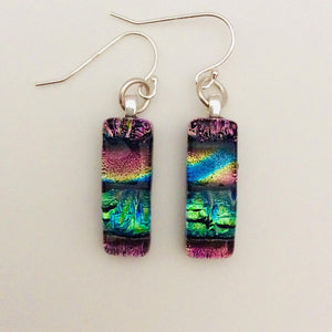 Dichroic Glass Earrings T12 ONLINE SPECIAL PRICE