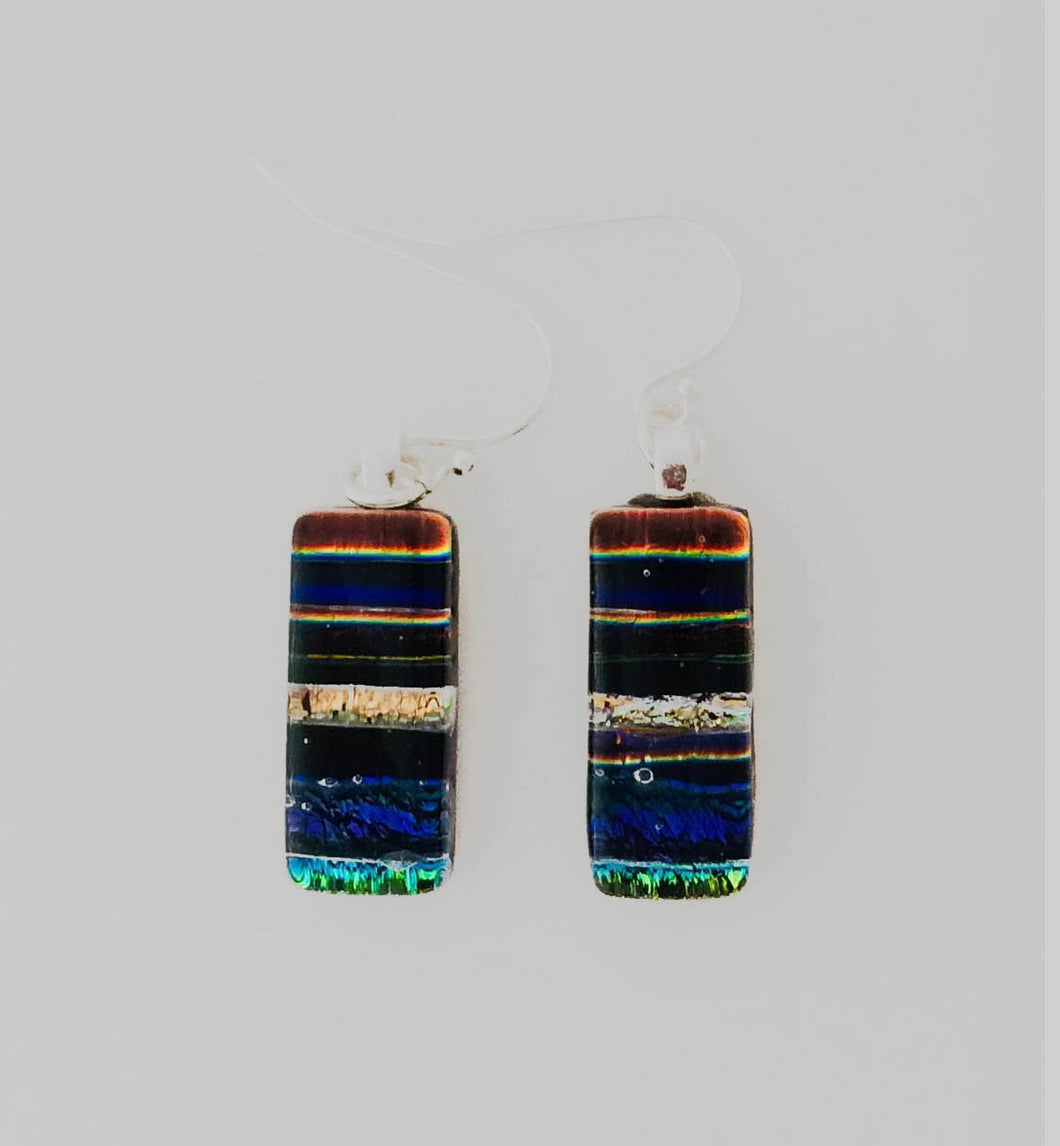 Dichroic Glass Earrings T75 ONLINE SPECIAL PRICE