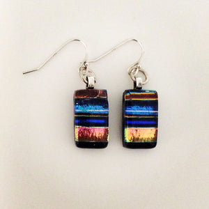 Dichroic Glass Earrings T32 ONLINE SPECIAL PRICE