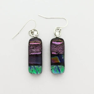 Dichroic Glass Earrings T34 ONLINE SPECIAL PRICE