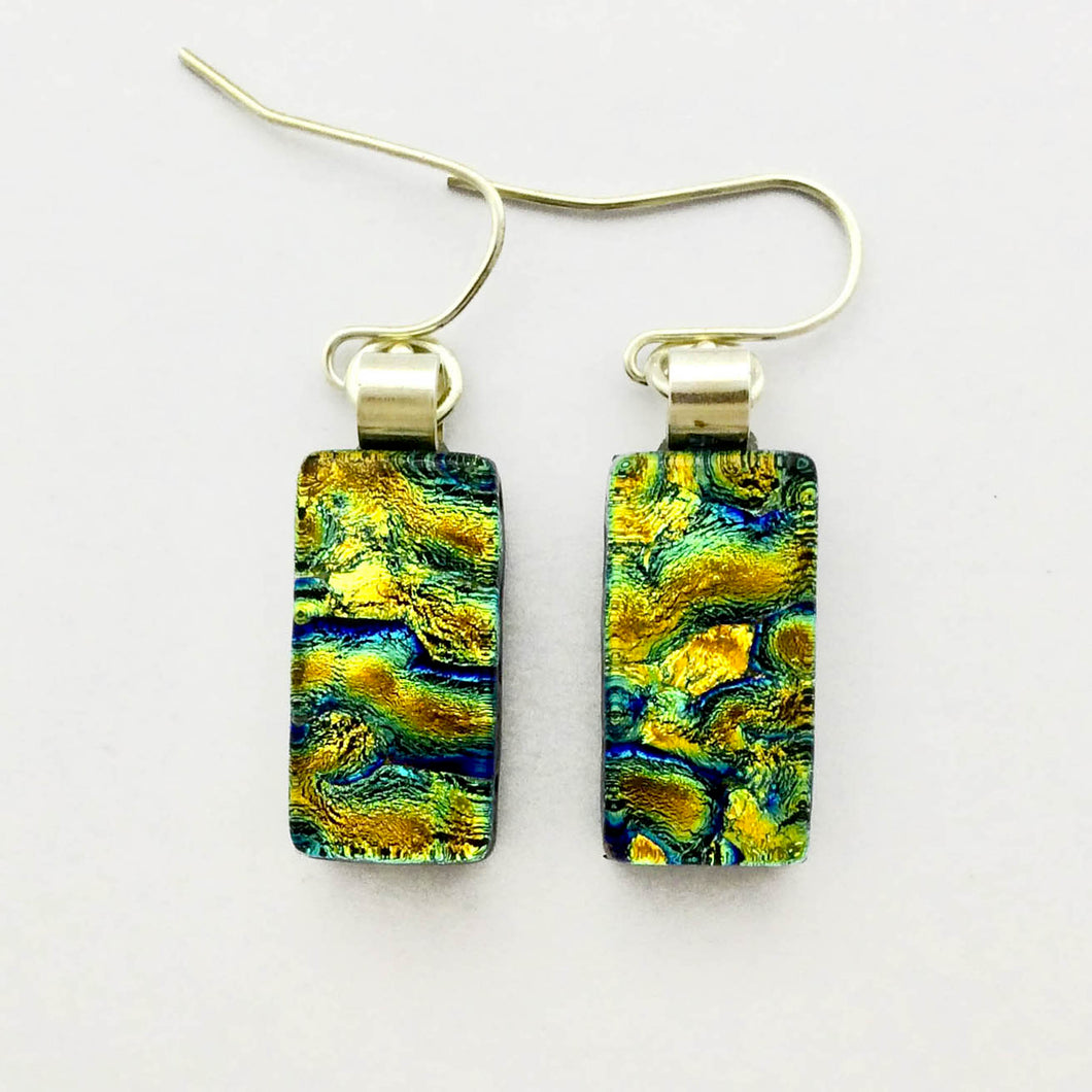 Dichroic Glass Earrings T53 ONLINE SPECIAL PRICE