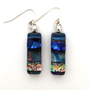 Dichroic Glass Earrings T59 ONLINE SPECIAL PRICE