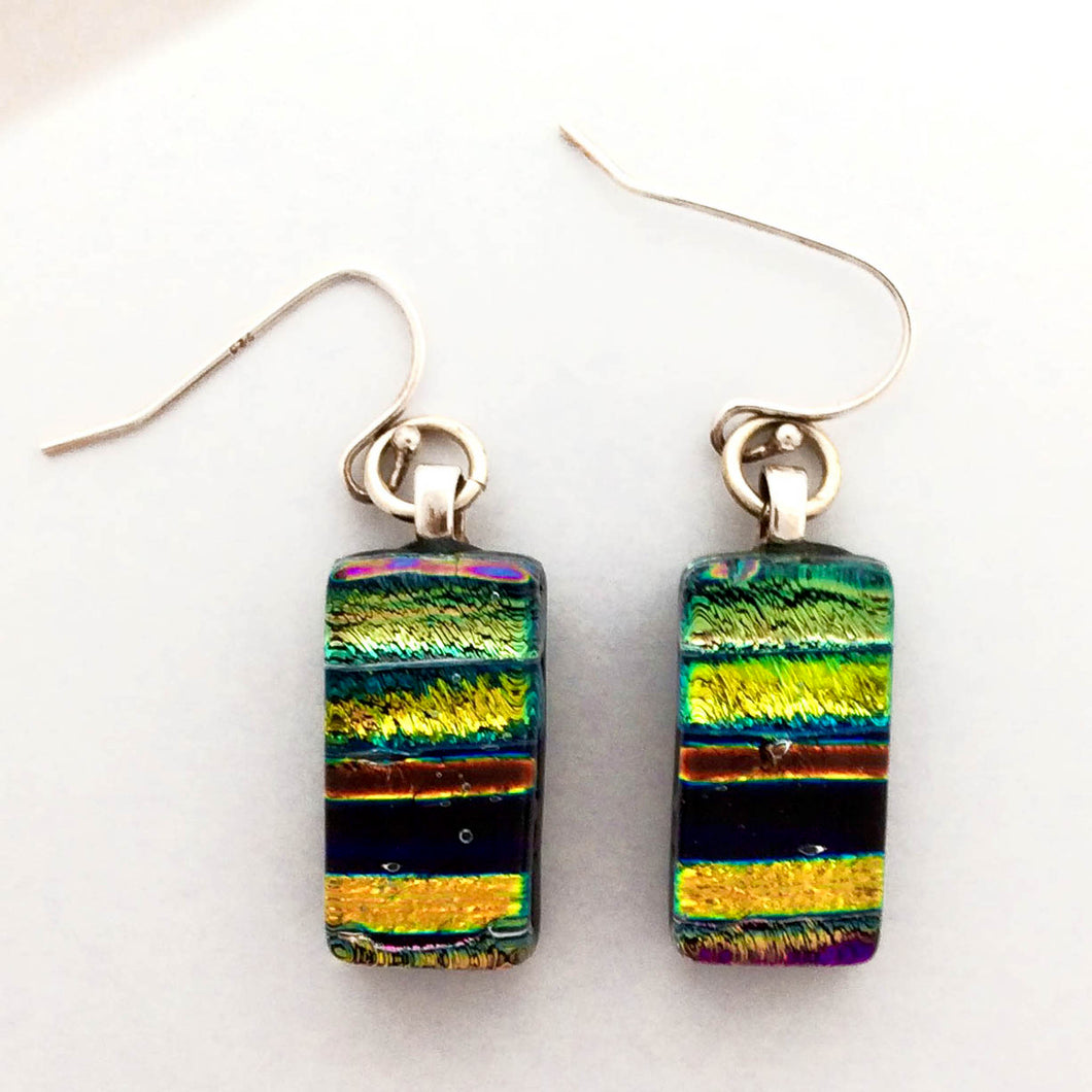 Dichroic Glass Earrings T73 ONLINE SPECIAL PRICE