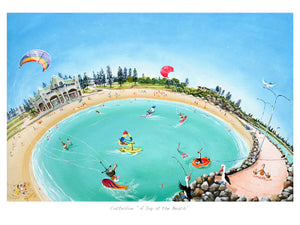 "Print - Cottesloe ""A Day at the Beach"""