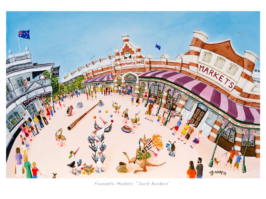 Print - Fremantle Markets