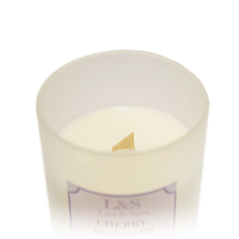 Cherry Blossom Soy Wax Candle by Lisa & Sara