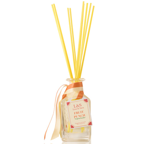 """Tropical Paradise"" - Fruit Punch Reed Diffuser"