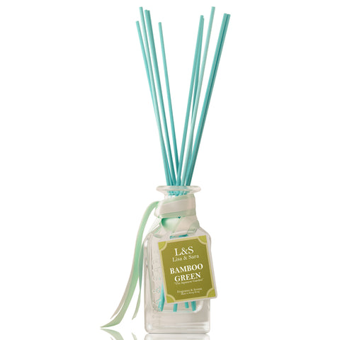"""The Japanese Tea Garden"" - Bamboo Green Reed Diffuser"