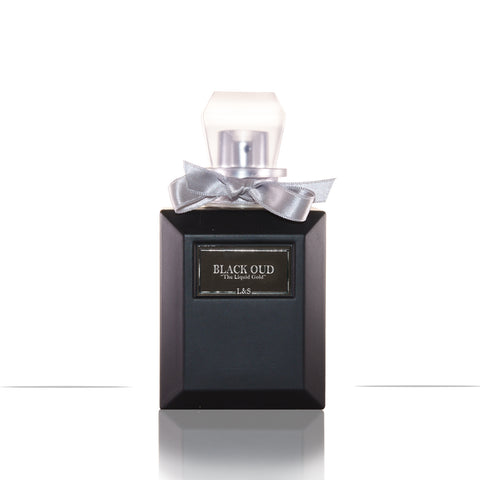 New! Black Oud Aqua Perfume in Black