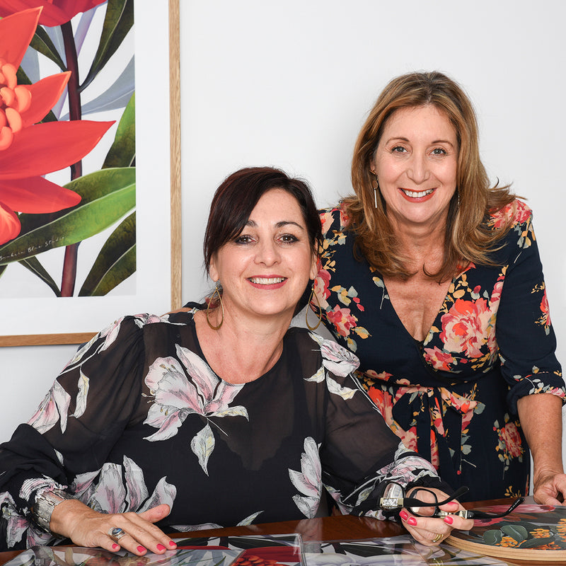 Behind the Scenes of Banksia Blue Studio with creators Lisa and Suzanne