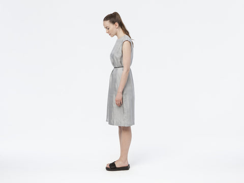 Vanntha Dress // silver-grey <br/> FOLKDAYS Nº 110 - FOLKDAYS  - 1