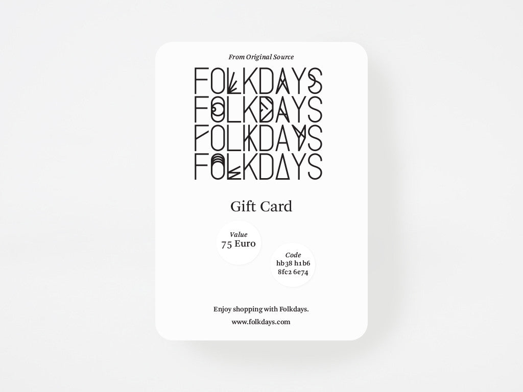 Gift Card - Something Special<br/>for Someone Special - FOLKDAYS
