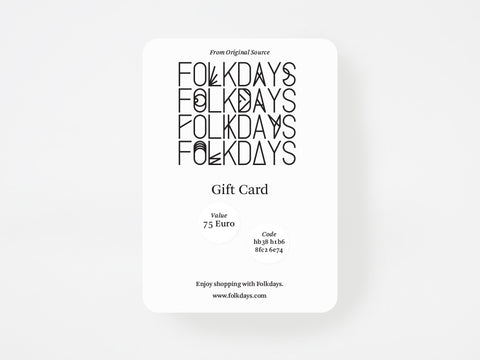 Gift Card - Something Specialfor Someone Special - FOLKDAYS