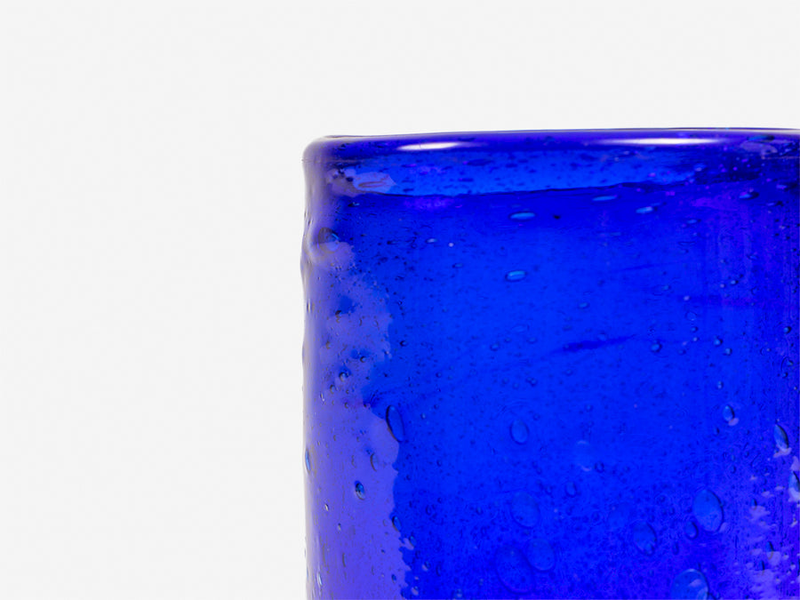 Drinking Glass // Blue </br> Medium