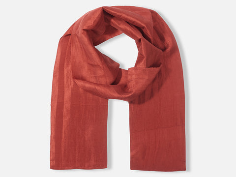 Ary Scarf // rust red <br/> FOLKDAYS Nº 209
