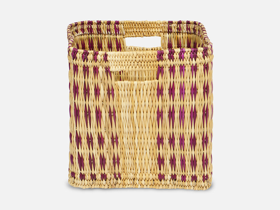 Basket with Pattern