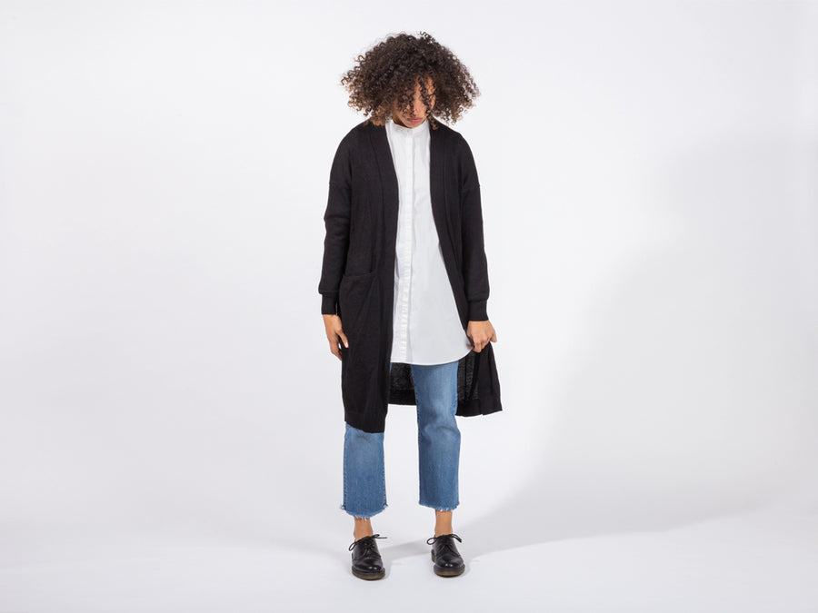 Eva Cardigan // black