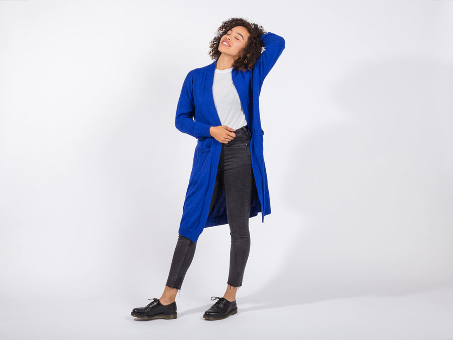 Eva Cardigan // blue