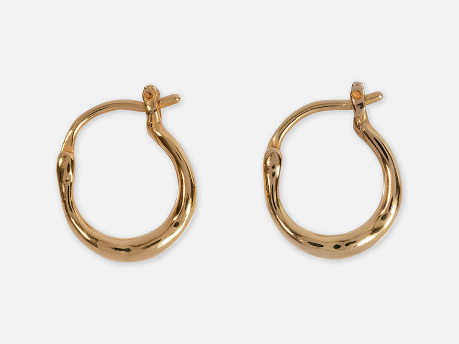 PRE-ORDER NOW: Gala Mini Hoops // gold