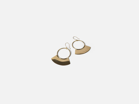 Goma Earrings  FOLKDAYS Nº 235