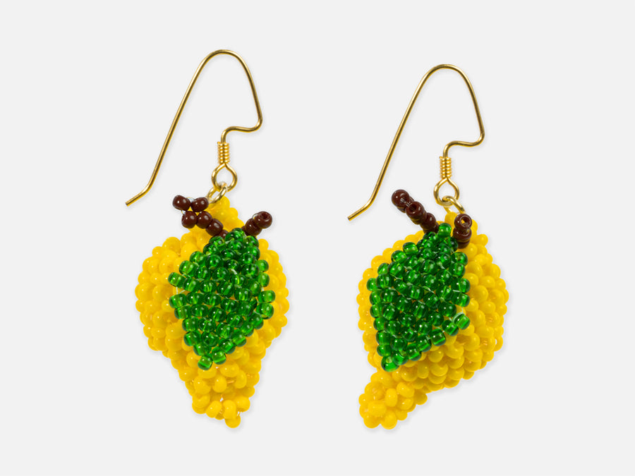 This is Jane Wayne Lemon Earrings // Inspired By